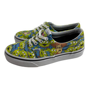 Vans Disney Toy Story Aliens Sneakers Size 5.5 Womens Lace Up Glow in the Dark